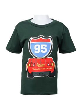 INSPI Disney Cars Lightning Mc Queen 95 Tshirt