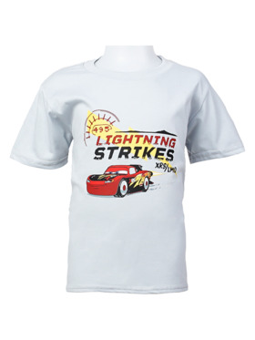 INSPI Disney Cars Lightning Strikes Tshirt