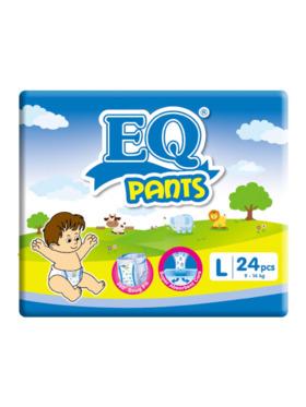 EQ Diapers and Wipes Pants Big Pack Pants Diaper Large (24 pcs)