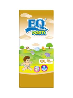 EQ Diapers and Wipes Pants Jumbo Pack Pants Diaper XXXL (40 pcs)