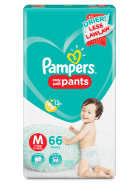 Pampers Baby Dry Pants Super Jumbo Medium (66 pcs)