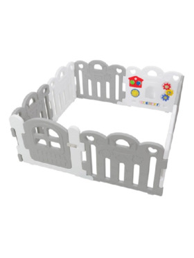 Haenim Petite baby room 8 panels (with Fitted Mat)