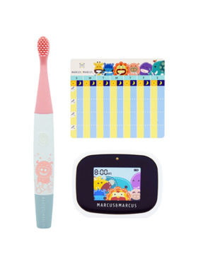 Marcus & Marcus Kids Interactive Sonic Silicone Toothbrush Set