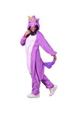 Happy Hoodies Unicorn Onesie for Parents (Petite)
