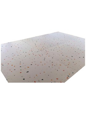 Olive and Cloud Terrazzo Puzzles Mats