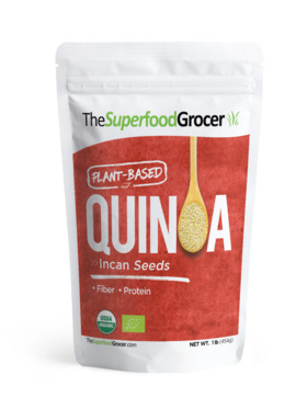 The Superfood Grocer Organic Quinoa Incan Seeds (454 g)