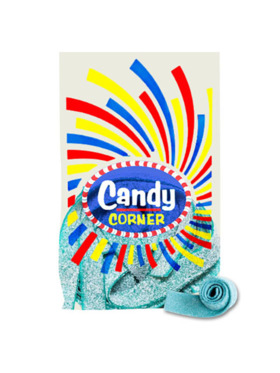 Fini Candy Corner Raspberry Sour Belts (300g)