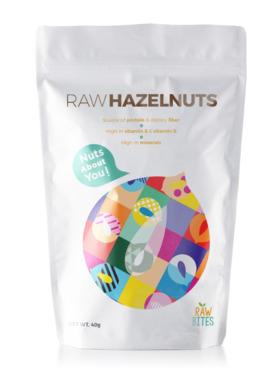 Raw Bites Raw Hazelnuts (40g)
