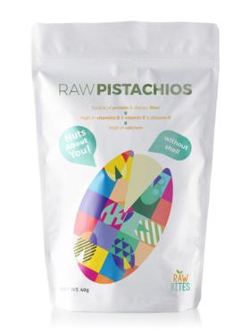 Raw Bites Raw Pistachios No shell (40g)