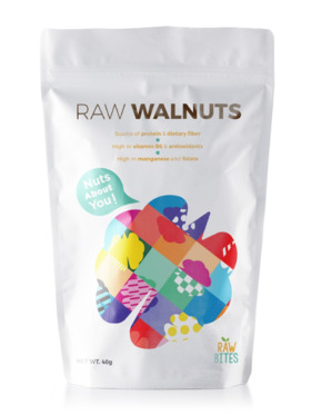 Raw Bites Raw Walnuts (40g)