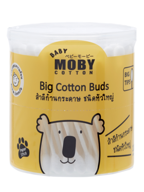 Baby Moby Cotton Buds Big