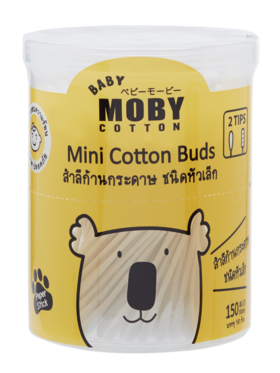 Baby Moby Cotton Buds Mini