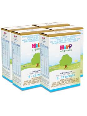 HiPP Organic Bag-in-Boxes Milk Supplement 6-12 Months (400g x 5)