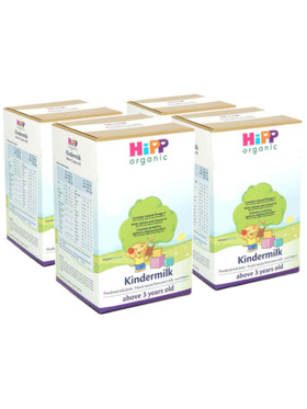 HiPP Organic Bag-in-Boxes Kindermilk 3 Years Above (800g x 4)