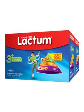 Lactum Lactum 3+ Plain Powdered Milk Drink 4kg