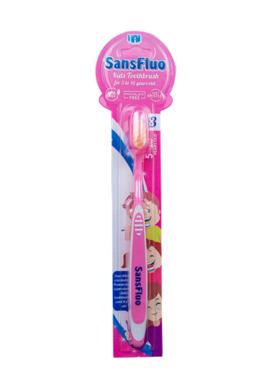 SansFluo Kids Toothbrush (5-10yo)