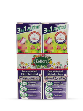 Zoflora Secret Garden Disinfectant Spray 2-Pack (250ml)