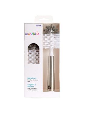 Munchkin Shine Stainless Steel Bottle Brush