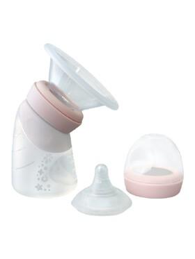 Marcus & Marcus Silicone Angled Feeding Bottle & Breast Pump