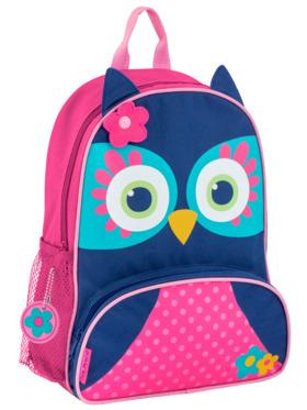 Stephen Joseph Owl Sidekick Backpack