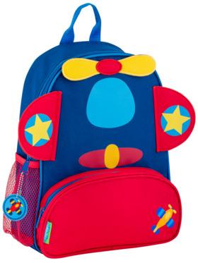 Stephen Joseph Airplane Sidekick Backpack