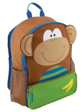 Stephen Joseph Monkey Sidekick Backpack