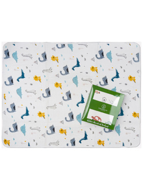 Swaddies PH Jurassic Stitch-free Water-Absorbent Bedmat