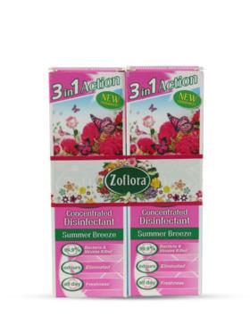 Zoflora Summer Breeze Disinfectant Spray 2-Pack (250ml)