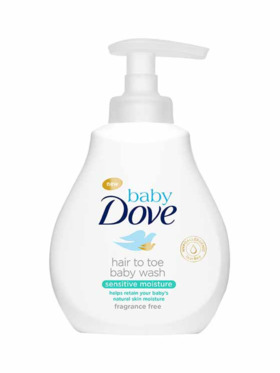 Baby Dove Hair To Toe Wash Sensitive Moisture (200ml)