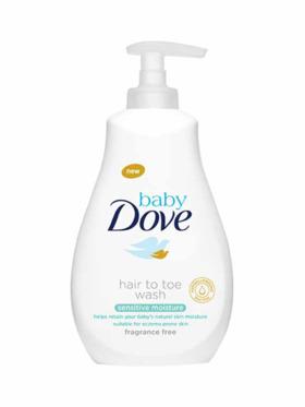 Baby Dove Hair to Toe Wash Sensitive Moisture (591ml)