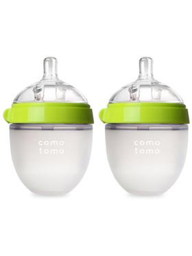 Comotomo Silicone Baby Bottle Twinpack (5oz)