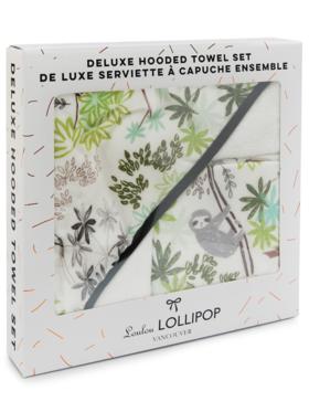 Lou Lou Lollipop Sloth Towel Set
