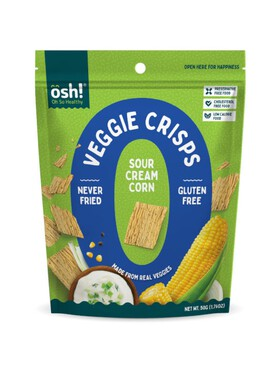Oh So Healthy! Veggie Crisps Sour Cream Corn (50g)