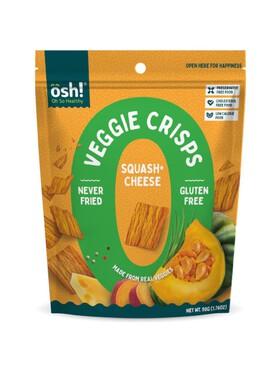 Oh So Healthy! Veggie Crisps Squash Cheese (50g)