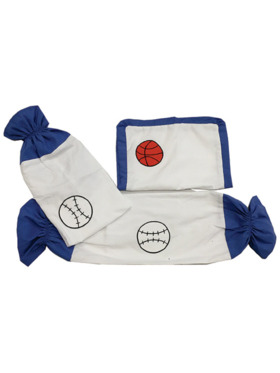 Kozy Blankie Star Player Pillow Case and Bolster Case