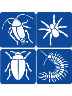 LunaLoveMNL Stencil - Insect (Set of 4)