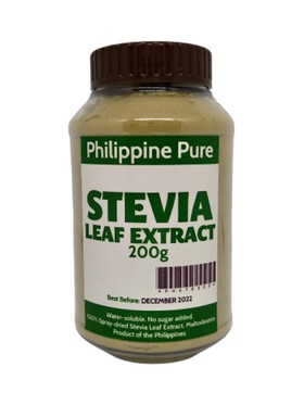Philippine Pure Stevia Leaf Extract (200g)