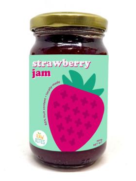 Raw Bites Strawberry Jam (260g)