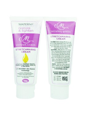 Momma Cares Stretchmarks Cream with Materni+ Technology (100g)