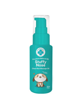 Tiny Buds Stuffy Nose Natural Baby Chest Rub Oil (30ml)