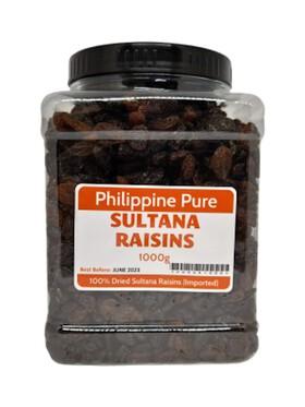 Philippine Pure Sultana Raisins (1000g)