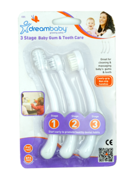 Dreambaby- Sanxiao Toothbrush Set Stage 3