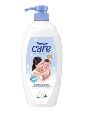 Tender Care Jasmine Cotton Hypo-Allergenic Baby Wash (500ml)