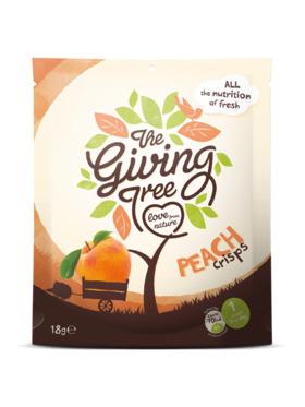 The Giving Tree Freeze-Dried Peach Crisps (18g)