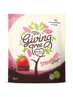 The Giving Tree Freeze-Dried Strawberry Crisps (18g)
