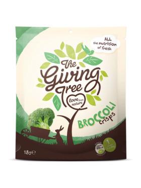 The Giving Tree Vacuum Fried Broccoli Crisps (18g)