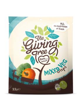 The Giving Tree Vacuum Fried Mixed Veggies Crisps (22g)