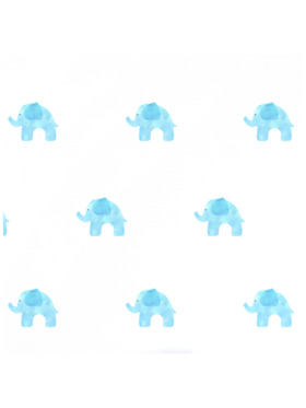Baboo Basix The Elephant Life Peel and Stick DIY Wall Decals