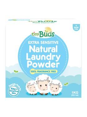 Tiny Buds Extra Sensitive Natural Laundry Powder (1kg)
