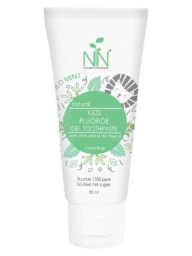 Nature to Nurture Kids Fluoride Gel Toothpaste Mild Mint (50ml)